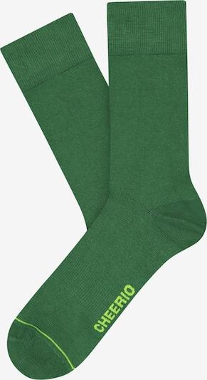 CHEERIO* Socks 'Best Friend' in Green, Item view