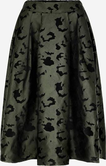 Y.A.S Rock in oliv / schwarz, Produktansicht