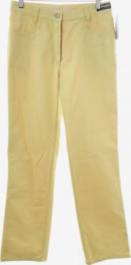 Michèle Straight-Leg Jeans in 27-28 in dunkelgelb, Produktansicht