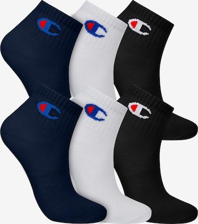 Champion Authentic Athletic Apparel Sneakersocken ' 6er-Pack Ankle Socks Kids ' in navy / schwarz / weiß, Produktansicht