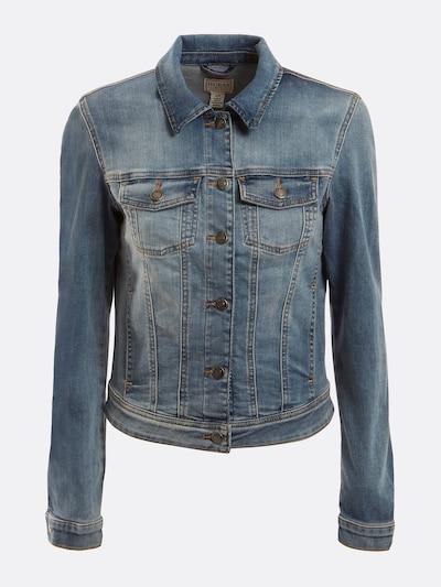 GUESS Jeansjacke in blau, Produktansicht