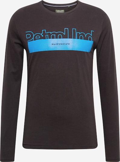 Petrol Industries Majica | modra / črna barva, Prikaz izdelka