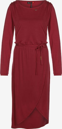 Ragwear Kleid 'Ethany' in dunkelrot, Produktansicht