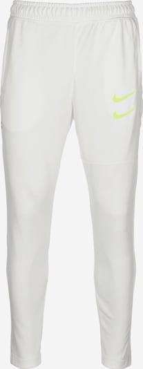 NIKE Sportbroek 'Swoosh' in de kleur Blauw / Geel / Wit, Productweergave