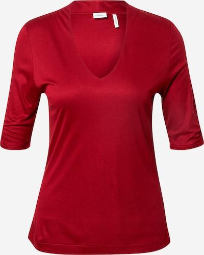 s.Oliver BLACK LABEL T-shirt i röd, Produktvy