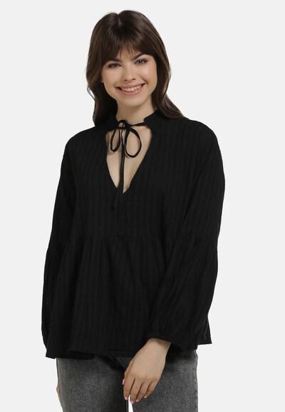 MYMO Bluse in schwarz, Modelansicht