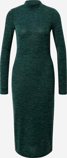 Noisy may Stickad klänning 'CRISTINA' i mörkgrön, Produktvy