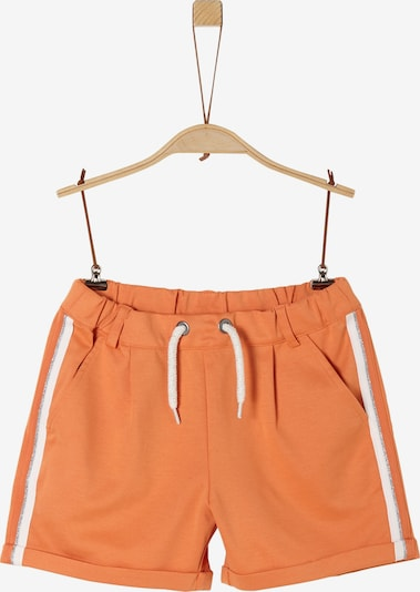 s.Oliver Shorts in orange / weiß, Produktansicht