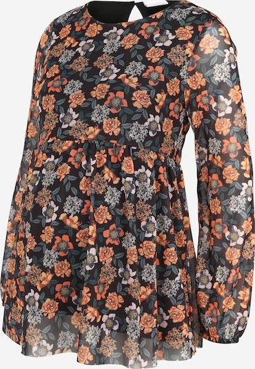 MAMALICIOUS Majica 'MLSMILLA' u narančasta / crna, Pregled proizvoda