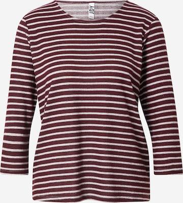 JDY T-shirt 'ELIN' i röd