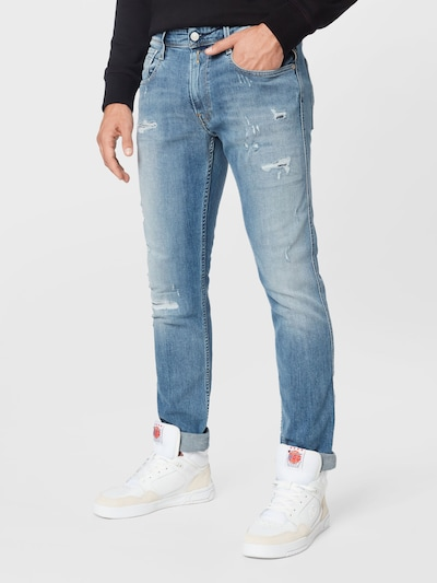 REPLAY Jeans 'ANBASS' in hellblau, Modelansicht