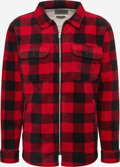 QUIKSILVER Functioneel overhemd 'TOLALA' in de kleur Rood / Zwart, Productweergave