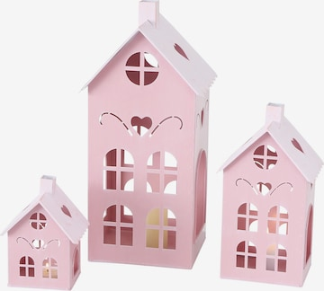 BOLTZE Candles & Holders 'Kufstein Haus' in Pink