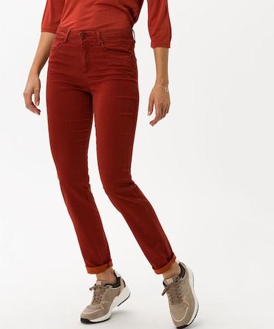 BRAX Traperice 'Shakira' u hrđavo crvena, Prikaz modela