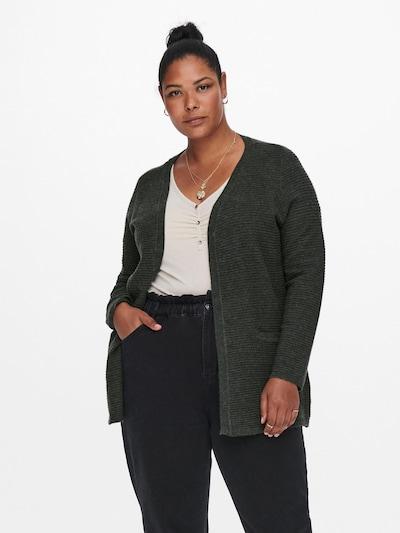 ONLY Carmakoma Knit Cardigan 'Karia' in Dark grey, View model