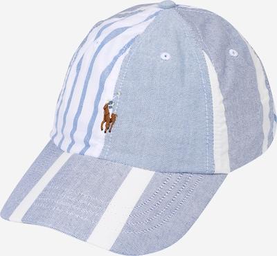POLO RALPH LAUREN Pet in de kleur Smoky blue / Lichtblauw / Wit, Productweergave
