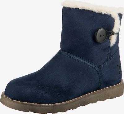 ambellis Stiefel in dunkelblau / weiß, Produktansicht