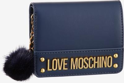 Love Moschino Geldbörse in dunkelblau, Produktansicht
