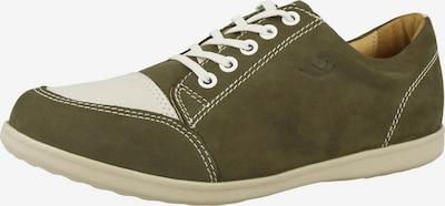 CHUNG SHI Schuh in dunkelgrün / weiß, Produktansicht