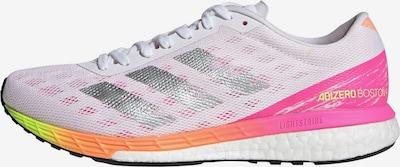ADIDAS PERFORMANCE Laufschuh 'Adizero Boston 9' in gelb / pink / silber / weiß, Produktansicht
