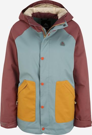 BURTON Sport-Jacke 'Eastfall' in creme / opal / braun / goldgelb, Produktansicht