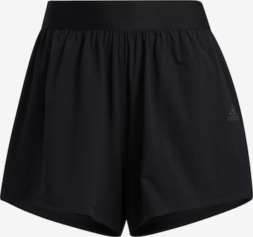 juoda ADIDAS PERFORMANCE Sportinės kelnės