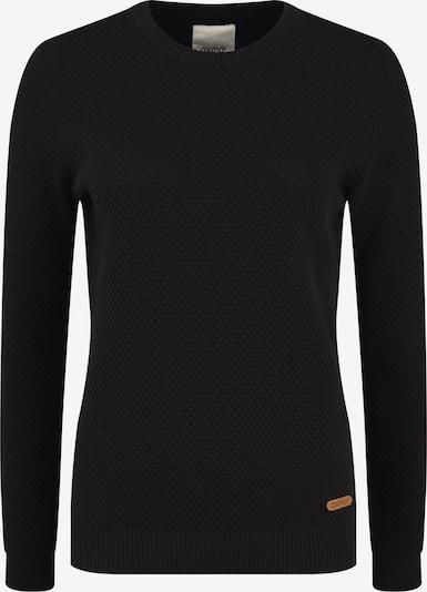 Oxmo Strickpullover 'Sarah' in schwarz, Produktansicht