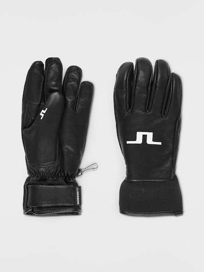 J.Lindeberg Handschuhe in schwarz, Produktansicht