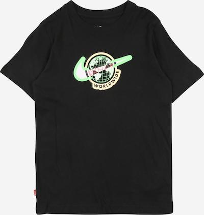 Nike Sportswear Shirt 'Footwear1' in kitt / limette / melone / schwarz / weiß, Produktansicht