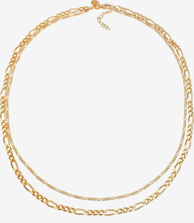 ELLI PREMIUM Cadena 'Figaro' en oro, Vista del producto