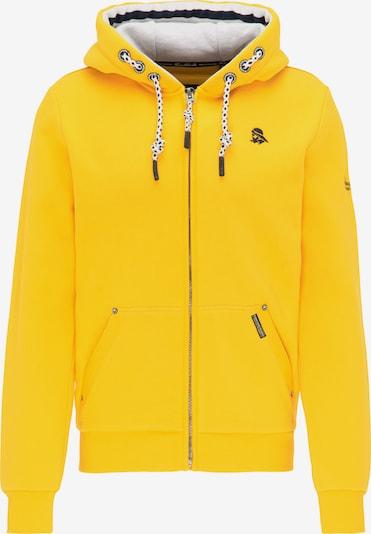 Schmuddelwedda Sweatjacke in gelb, Produktansicht