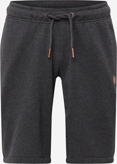 Alife and Kickin Shorts 'Justus' in dunkelgrau, Produktansicht