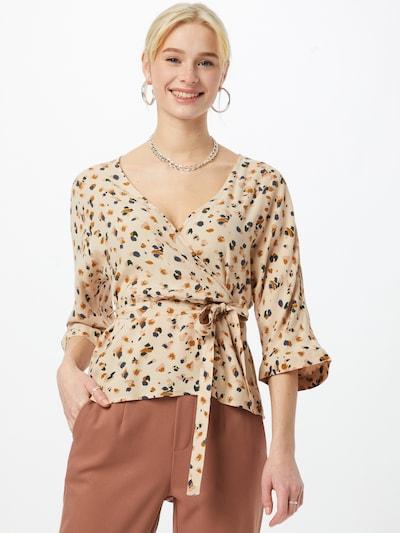 OBJECT Blusa en mezcla de colores, Vista del modelo