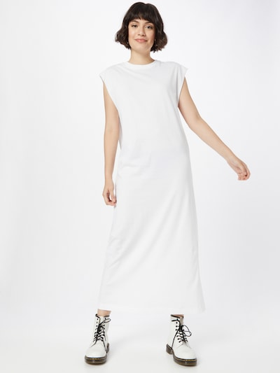 WEEKDAY Kleid 'Lia' in weiß, Modelansicht