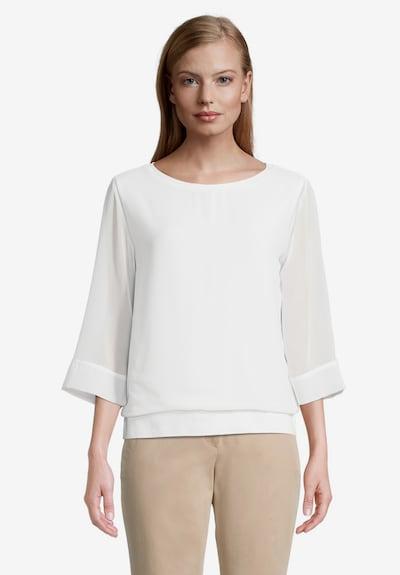 Betty & Co Shirt in weiß, Modelansicht