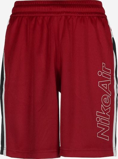 NIKE Sportbroek ' Air ' in de kleur Rood / Zwart, Productweergave