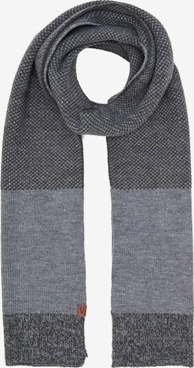 CAMEL ACTIVE Sjaal in de kleur Grijs / Donkergrijs, Productweergave