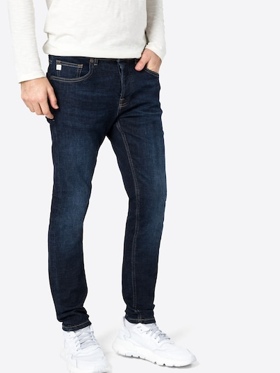 Goldgarn Jeans 'U2' in dunkelblau, Modelansicht