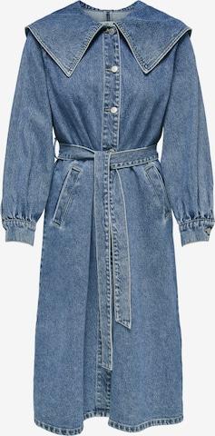 ONLY Kleid 'Rikke' in Blau