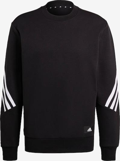 ADIDAS PERFORMANCE Спортен блузон с качулка в черно / бяло, Преглед на продукта