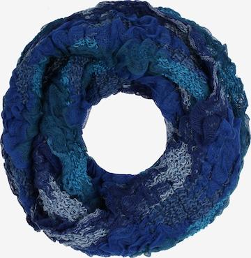 Écharpe tube IZIA en bleu