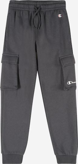 Champion Authentic Athletic Apparel Pantalon en anthracite / blanc, Vue avec produit