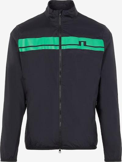 J.Lindeberg Sportjas in de kleur Neongroen / Zwart, Productweergave