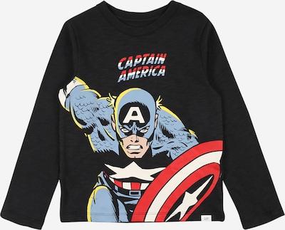 GAP Shirt in dunkelblau / gelb / rot / schwarz / weiß, Produktansicht