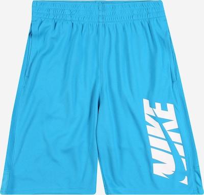 Nike Sportswear Byxa i ljusblå / vit, Produktvy
