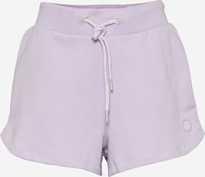 KnowledgeCotton Apparel Shorts 'TEAKY' in flieder, Produktansicht