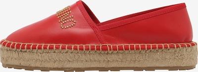 Love Moschino Espadrilles in rot, Produktansicht