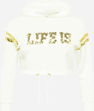 Megztinis be užsegimo 'ZIBATI' iš LTB , spalva - Auksas / balta, Prekių apžvalga