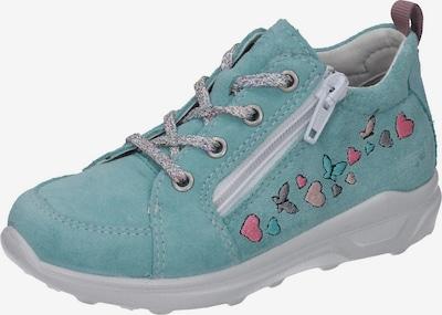 RICOSTA Sneaker in türkis / aqua / graphit / pink, Produktansicht