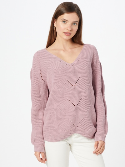Sublevel Pullover in pastelllila, Modelansicht